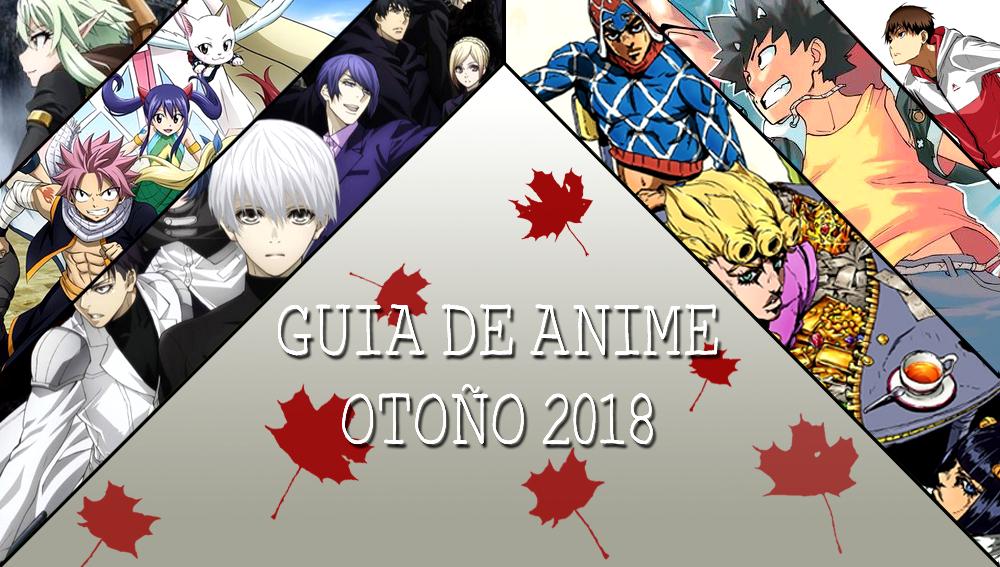 Guía de anime otoño 2018 destacada - el palomitron