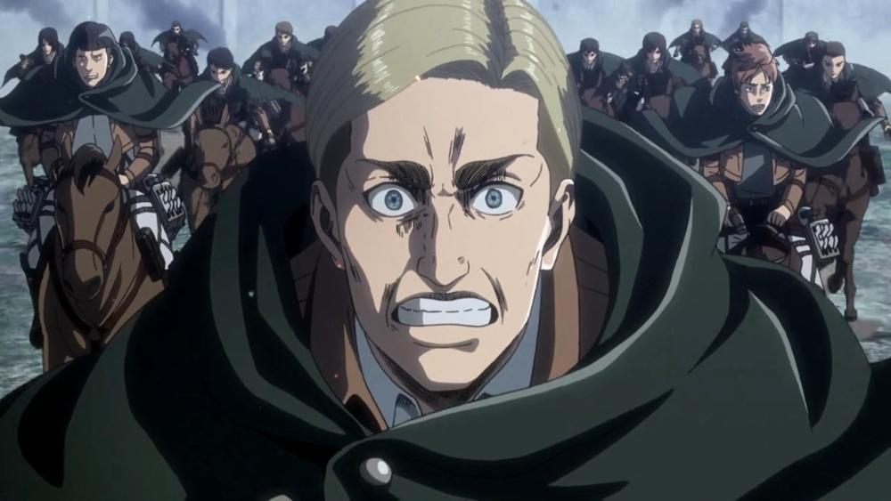 Shingeki No Kyojin Gritos Imperecederos El Palomitrón